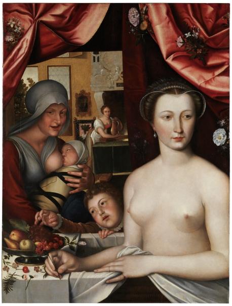 Mujer en el baño (¿Diana de Poitiers?)