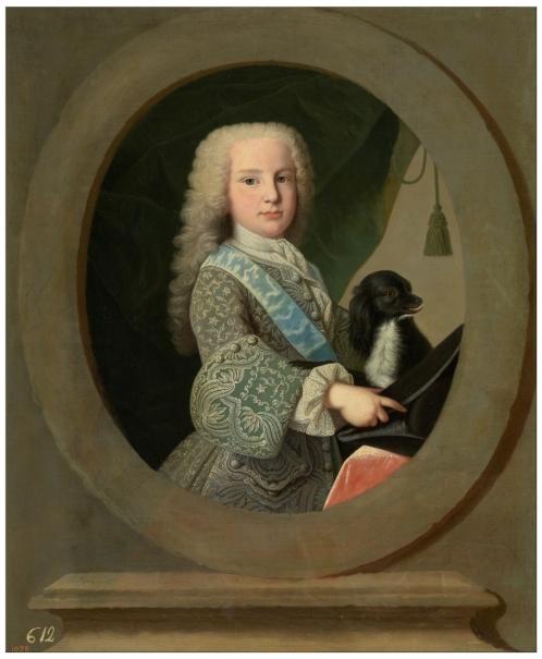 El infante-cardenal Luis Antonio de Borbón, niño