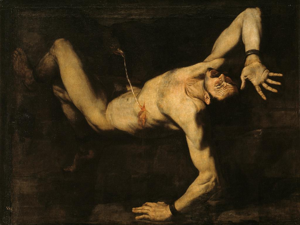 Ribera and the aesthetic of horror