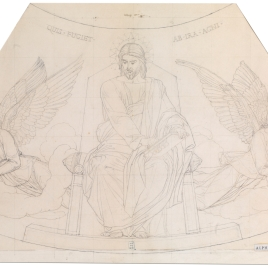 Cristo con ángeles