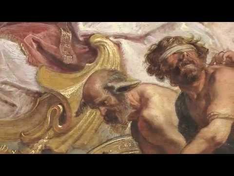 Proceso de restauración de El triunfo de la Eucaristía, de Rubens