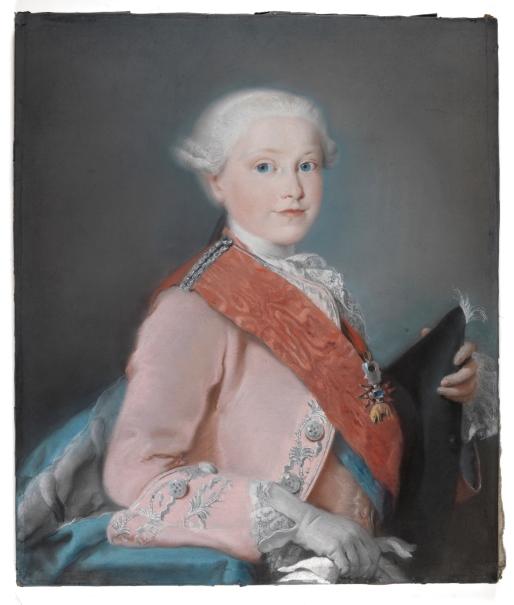 El infante don Gabriel de Borbón