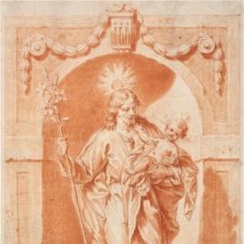 Imagen de San José en su altar