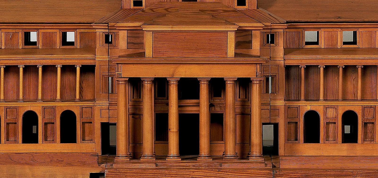 Maqueta o modelo del tercer proyecto de Juan de Villanueva para el Gabinete de Historia Natural