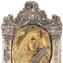 Carlos II, portapaz de plata