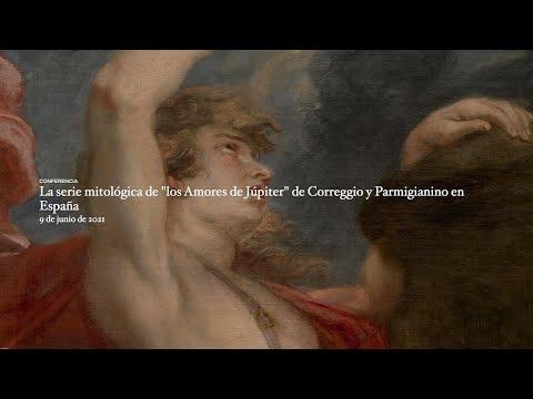 """La serie mitológica de """"los Amores de Júpiter"""" de Correggio y Parmigianino en España"""