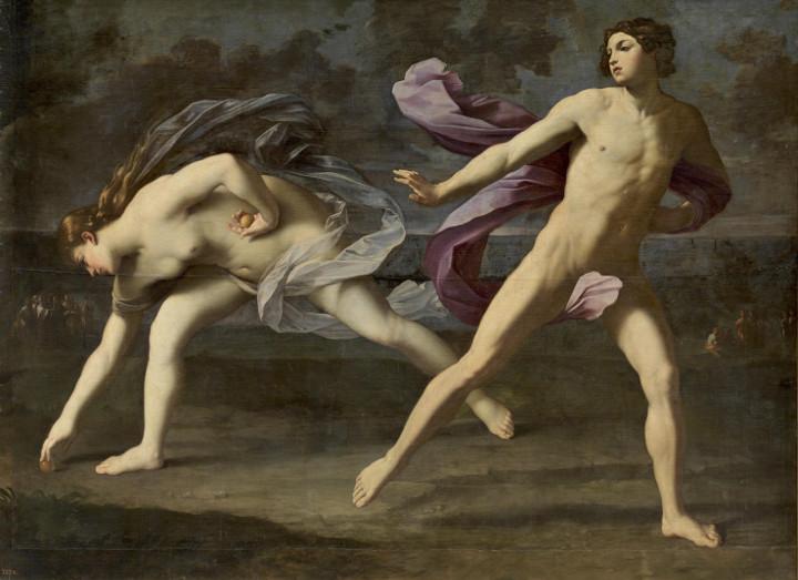 Hipómenes y Atalanta de Guido Reni:una pintura entre meditación, música y alquimia