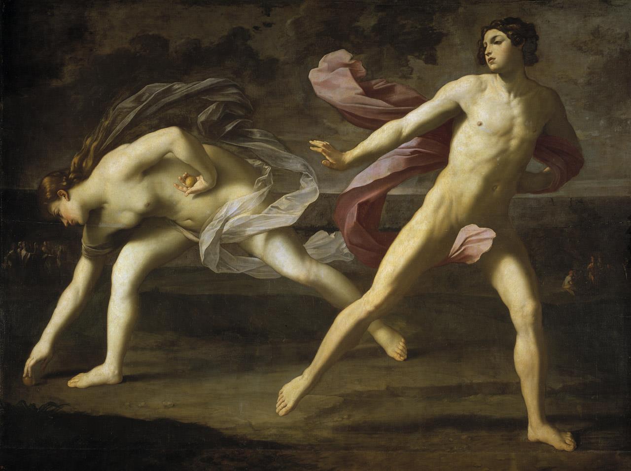 Hipomenes y Atalanta [Guido Reni]