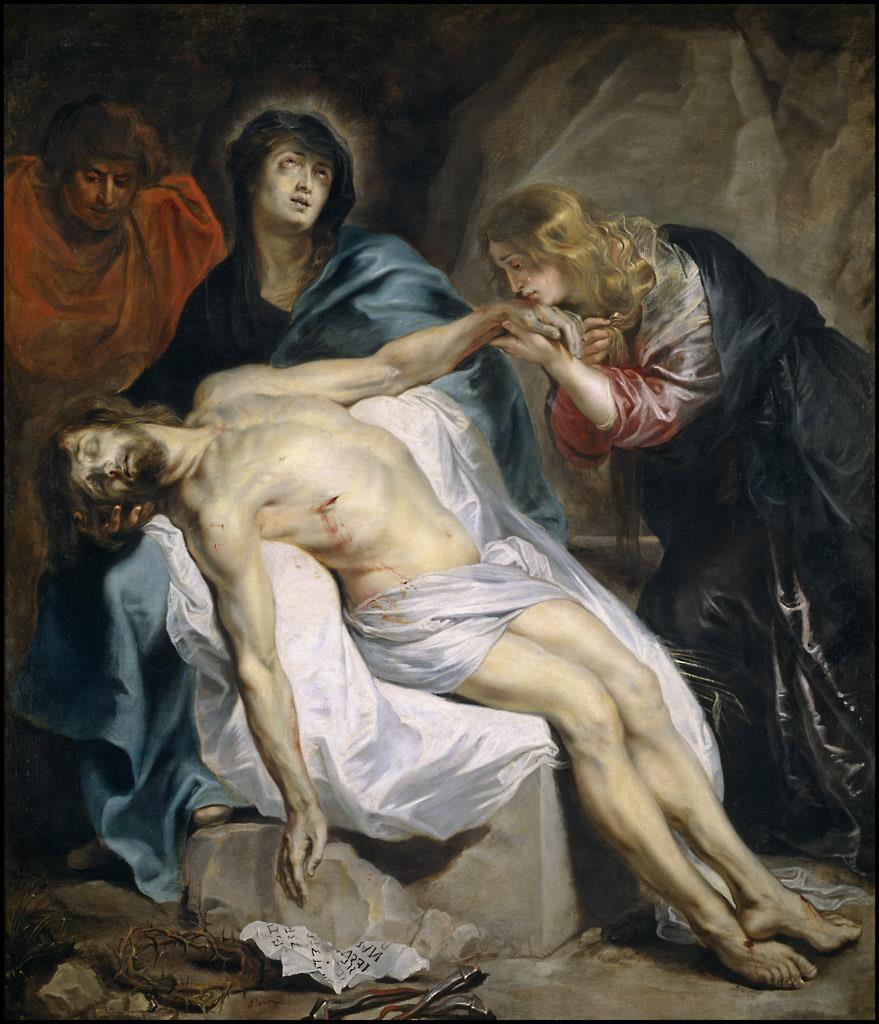 Piedad, La [Van Dyck]