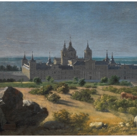View of the Monastery of San Lorenzo de El Escorial
