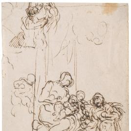 Virgen con el Niño y Santa Catalina