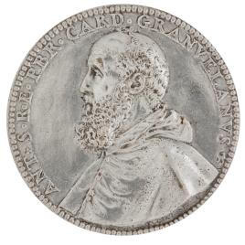 """Antonio Perrenot, cardenal Granvela - """"DVRATE"""""""