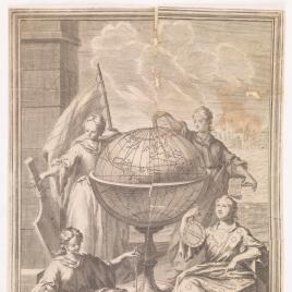 Alegorías de la Ciencia, la Astronomía, la Física y la Geometría