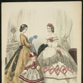 Anuncio de moda de París