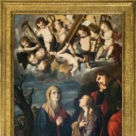 La Virgen con la Magdalena y San Juan