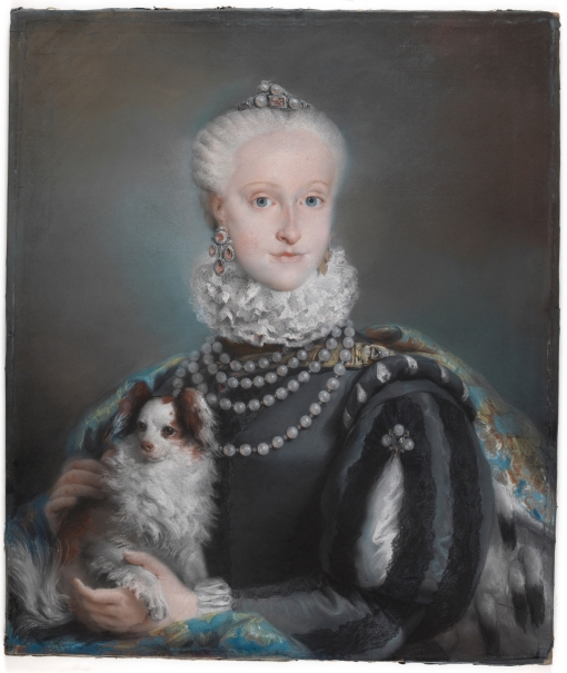 The Infanta María Josefa of Bourbon