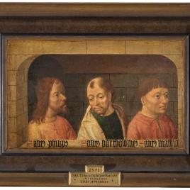 Los Apóstoles Felipe, Bartolomé, y Matías