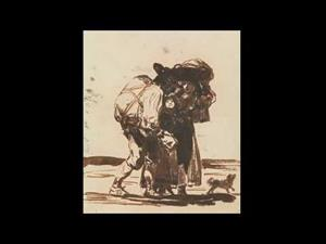 """Sketchbook F. Goya. Drawings. """"Only my Strength of Will Remains"""""""