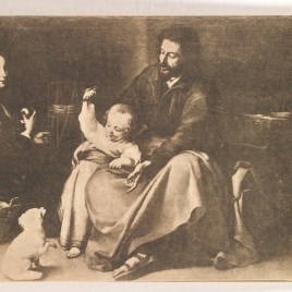 Sacra familia del pajarito