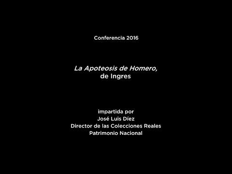 Conferencia: La Apoteosis de Homero, de Ingres