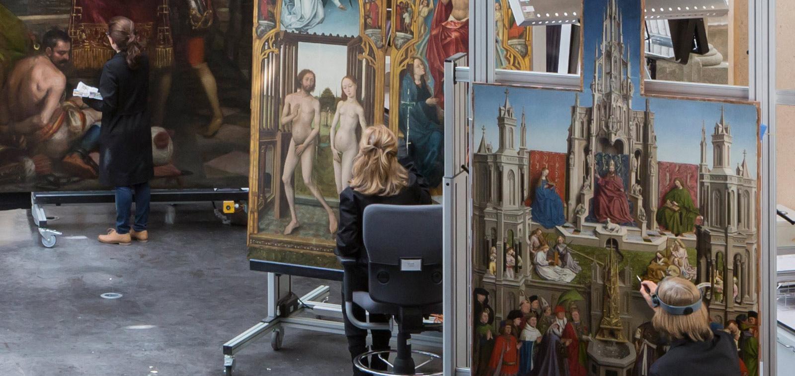 El Taller de restauración de pintura del Museo del Prado: tradición e innovación