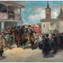 El rey Felipe IV en Navalcarnero