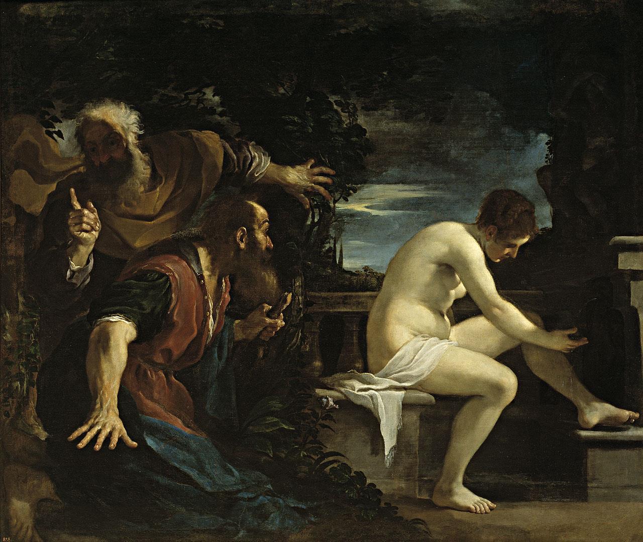 Susana y los viejos [Guercino]