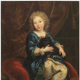 Felipe de Borbón, duque de Anjou y futuro Felipe V de España, niño