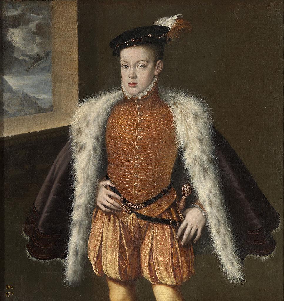 Príncipe don Carlos, El [Sánchez Coello]