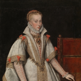 Queen Anne of Austria, fourth Wife of Philip II