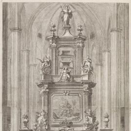 Túmulo funerario de María Amalia de Sajonia en Barcelona
