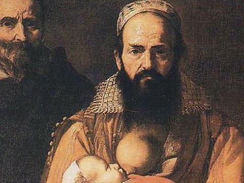 <em>La mujer barbuda</em> o <em>Magdalena Ventura con su marido</em>, José de Ribera, comentada por Ginés Liébana