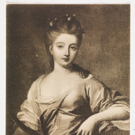 Retrato de Mlle de Berry