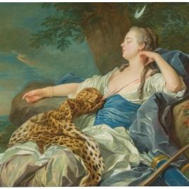 Diana en un paisaje