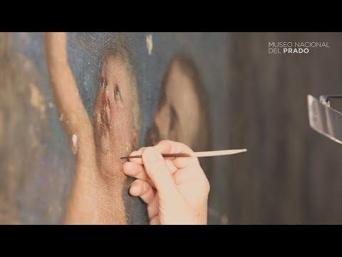Restauración: Felipe II ofreciendo al cielo al infante don Fernando, de Tiziano
