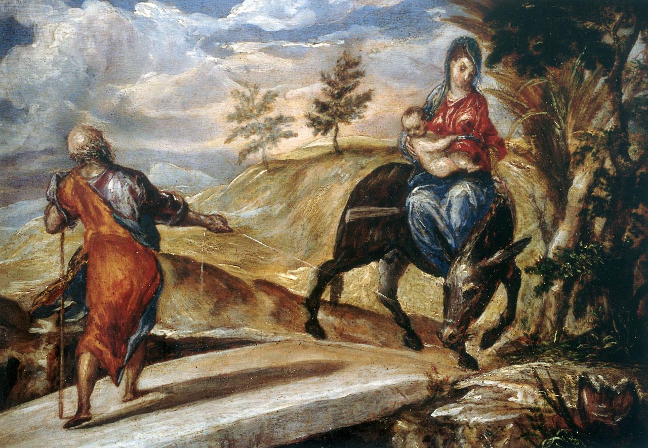 Huida a Egipto, La [El Greco]
