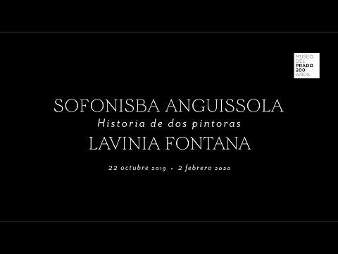 "Avance de la exposición ""Historia de dos pintoras: Sofonisba Anguissola y Lavinia Fontana"""