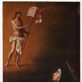Aparición de Cristo Salvador a santa Teresa de Jesús