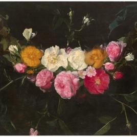 Guirnalda de rosas