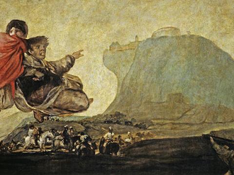 <em>Asmodea</em>, Francisco de Goya y Lucientes, comentada por José Caballero