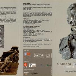 Mariano Benlliure : el dominio de la materia / Real Academia de Bellas Artes de San Fernando.