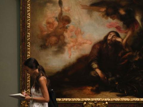 El Museo del Prado presenta una parte de las 25 obras donadas por el empresario Plácido Arango.