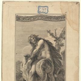 Hércules mata al dragón del Jardín de las Hespérides