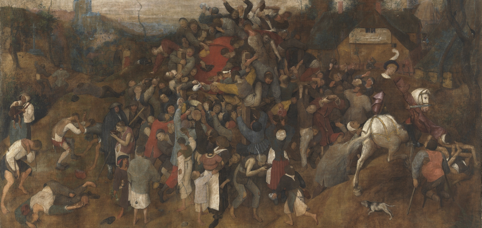 Instalación especial: El vino de la fiesta de San Martín de Bruegel el Viejo