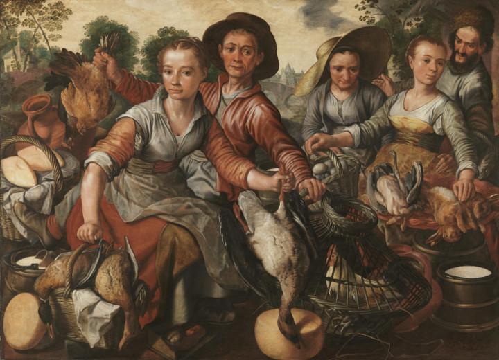 El Prado habla. Mercado, de Joachim Beuckelaer