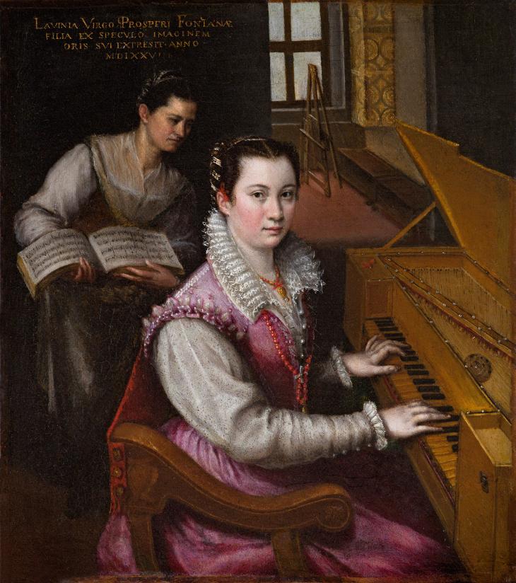 Lavinia Fontana: retratista de Bolonia