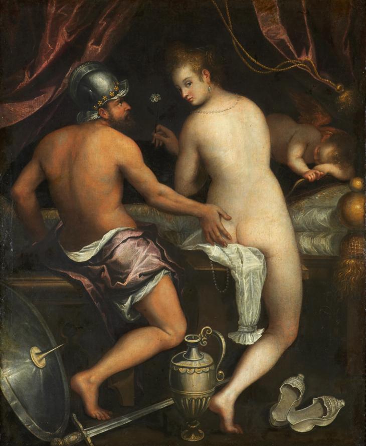 Lavinia Fontana y la pintura mitológica