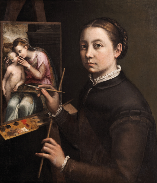 Self-Portrait at the Easel