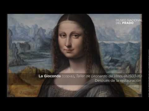 Commented works: La Gioconda (copy), Leonardo da Vinci´s Atelier (1503-1516)