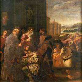 San Juan de Mata se despide de sus padres